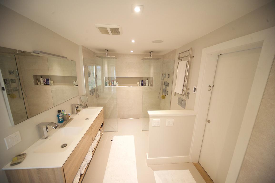 Commercial Interior Renovation, Bathroom Design Ct